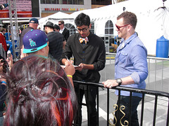 American Idol - 06 (greeblehaus) Tags: california ford la losangeles crystal lee idol anoop ai americanidol 2010 fordfiesta crystalbowersox leedewyze mattgiraud anoopdesai 9thseason