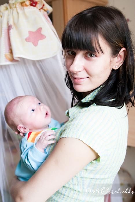 Фотосессии новорожденных от гродненского детского фотографа. Малыш Тимочка (24 дня)