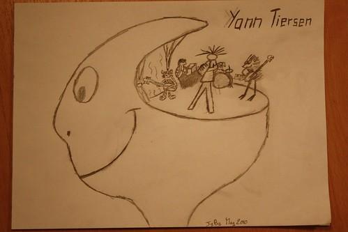 Yann Tiersen's band