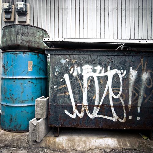 Moze Tag, Dumpster, Kasai Tokyo