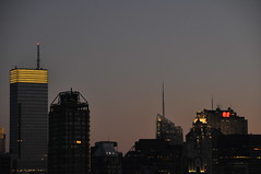 Midtown at Night (lbreiss34) Tags: nyc sunset bloomberg bloombergbuilding nycatnight
