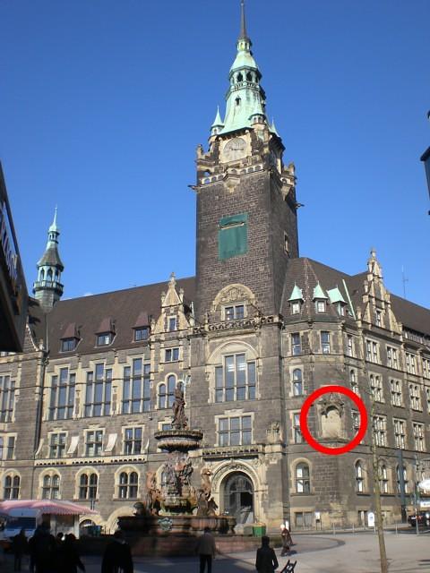 Rathaus Elberfeld ohne Ritter Arnold