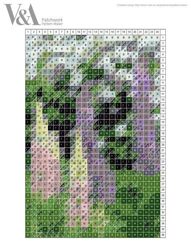 tall lupins pattern