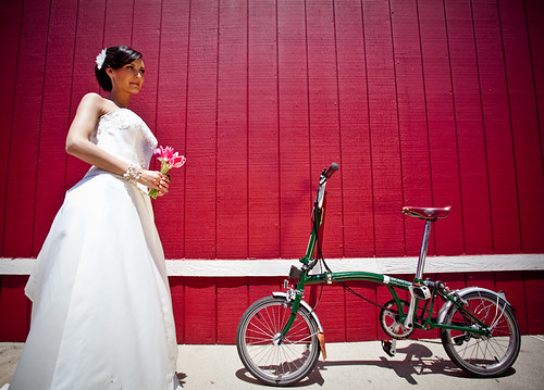 Beautiful Brompton Bride