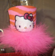 Hello Kitty (Order at: thekooziefloozie@aol.com) Tags: pink horse water beer cat keys boats rainbow keychain crystals texas purple hellokitty polkadots angels zebra giraffe soda dots beverages breastcancer rhinestones aggies koozies salonp