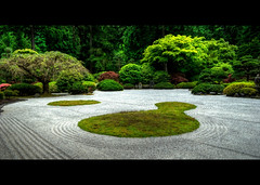 Zen Garden (markofphotography) Tags: oregon garden portland relax sand tranquility japanesemaple zen japanesegardens markcullen markofphotography