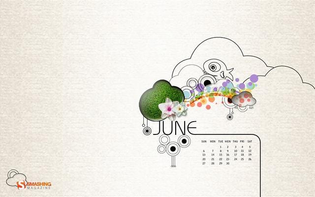2010년 6월 배경화면