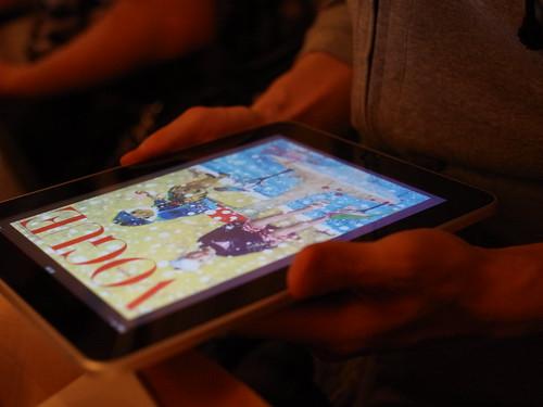iPad magazine