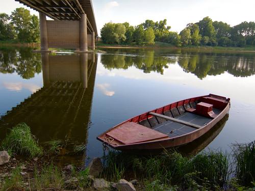 france canon europe powershot pont loire barque s90 maineetloire anjou chalonnes chalonnessurloire grandbras