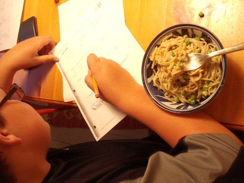 math with noodles
