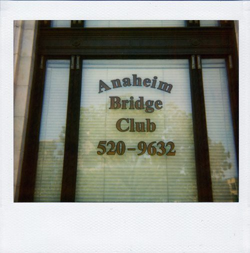 Anaheim Bridge Club