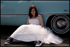 Chuck Taylors (coach Ed.B) Tags: sneakers converse weddingdress chucktaylors promdress converseallstar trashthedress