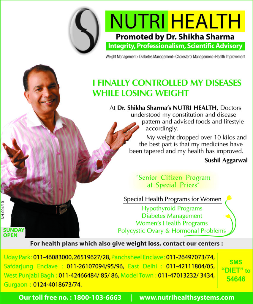Healthy Weight Loss Program - By NutriHealth