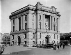 Magistrates' Court Building, Bronx, 1931. (La Guardia and Wagner Archives) Tags: court bronx laguardia fiorellolaguardia fiorello thelittleflower mayorlaguardia