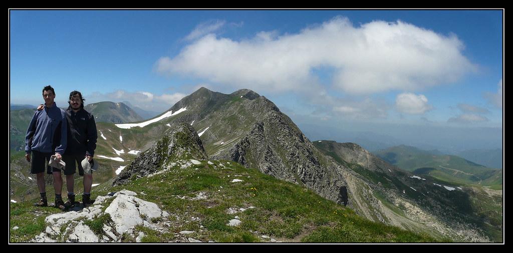 En la cima de La Keleta (1904 m.)