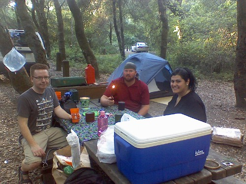 Camping in Scotts Valley #fb