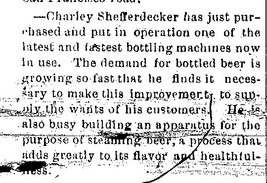 Schifferdecker bottling machine article