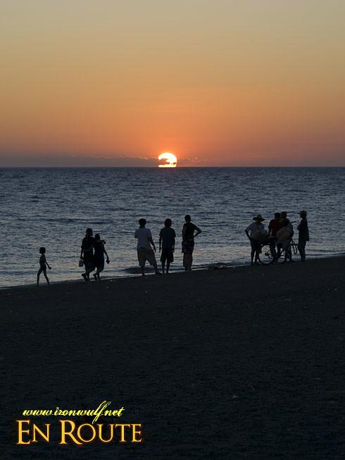 Aroma Beach Black Sands Sunset