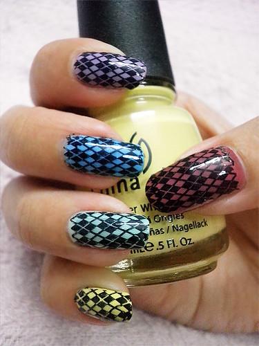 Multicolor Argyle