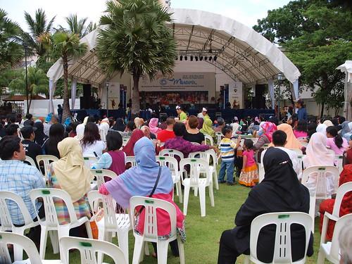 馬來傳統文化館正在辦傳統的Muara紀念活動