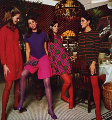 Fashion ad from the 60s (Simons retro) Tags: fashion magazine mod 60s 1960s seventeen