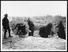 Digging sand (National Library of Scotland) Tags: sand war propaganda digging wwi great photojournalism worldwari worldwarone bags ww1 greatwar firstworldwar shovels sandbags laborers southafrican militarypersonnel thegreatwar southafricans indigenouspeoples 19141918 warphotography photographicprints labourcorps nls:dodprojectid=74462370 organization:library=nationallibraryofscotland owner:name=nationallibraryofscotland nls:source=solrxml blackandwhiteprintsphotographs worldwar19141918campaignswesternfront nls:dodid=74549618 nls:derivative=74408984 excavationprocess southafricannativelabourcontingent laborcorps sancl