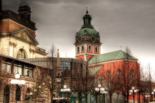 Estocolmo. Iglesia de Jacobo.