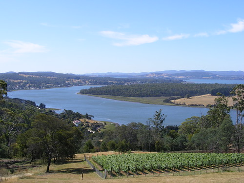 The Tamar River in Tasmania
