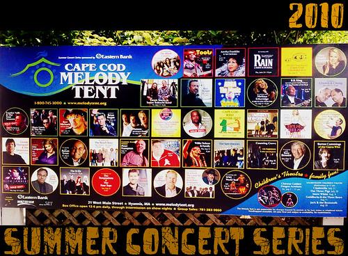 2010 capecod summer concerts lineup