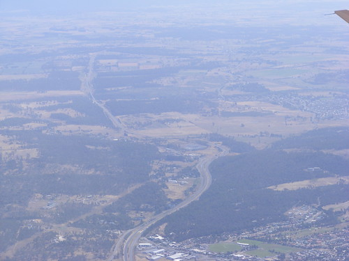 Tasmanian Highway from the Air