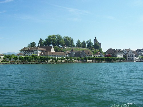 Rapperswil from Lake Zurich
