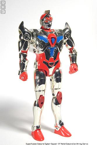 Superhuman Samurai Syber-Squad - 9inch Metal Samurai Ion Array Servo