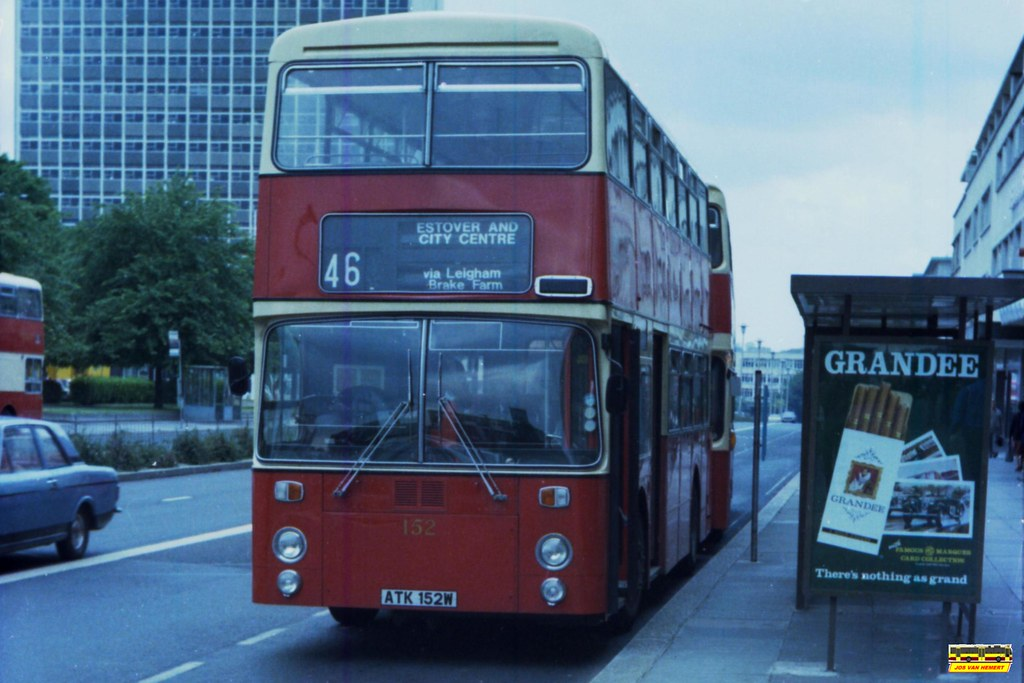 PCT Leyland Atlantean AN 152 - Ply., Royal Parade - 07-1981