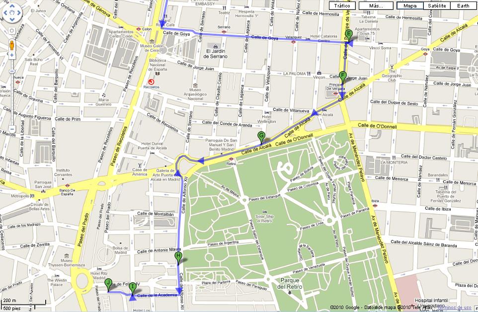 Caminata Madrid
