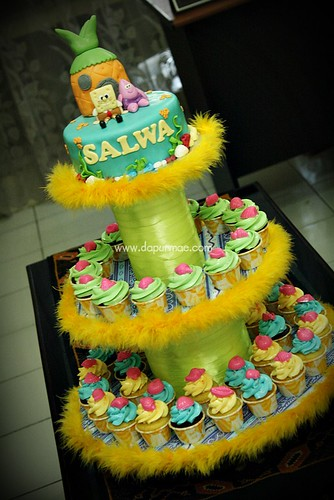 Salwa's 5th Birthday Cupcake Package