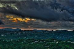 165. (Deb Stgo) Tags: sunset sky storm mountains clouds cielo nubes tormenta puestadesol 365 montaas