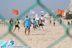 IMG_4050 (Streamer -  ) Tags: old girls people sun boys sport festival israel football sand soccer teen bikini volleyball maccabiah  teenage streamer   matkot    ashkelon