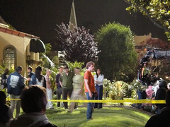 Dexter season 5 night shoot in Long Beach, CA ...