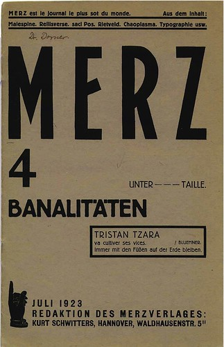 Merz 4 cover