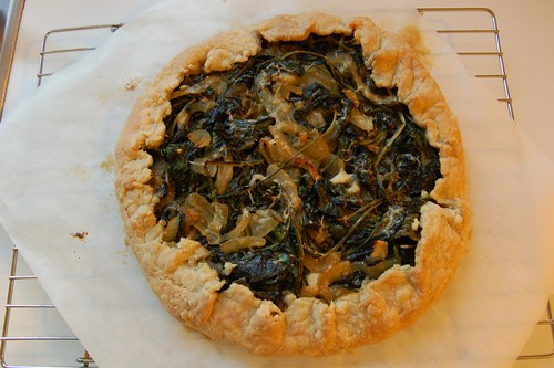 Galette of Greens