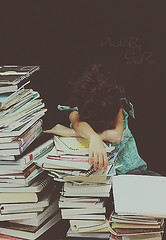Exam ='( (Sara ) Tags: school girl canon photo sara books e exam brb 2010 saraj  askme bysara      8|