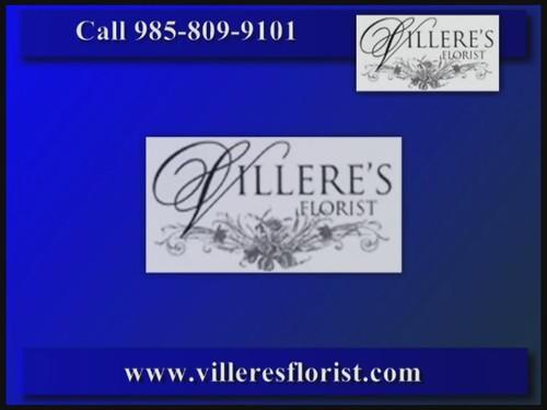 Villeres Florist bouquets