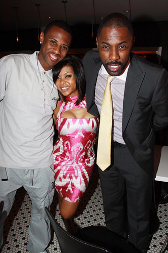 fabolous stringer bell and more at a birthday party