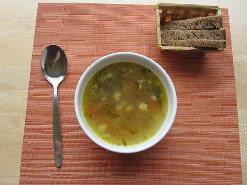 Avalon - Vegetable Soup and Rye Sourdough Bread