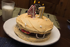 My Burgerthday Cake!