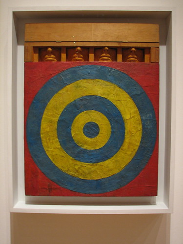 Jasper Johns Target with Four Faces (1955, MoMA)