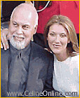 Rene Angelil & wife, Celine Dion by BaldRUs