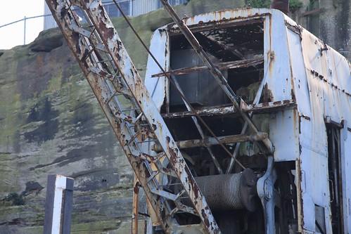 rusty crane