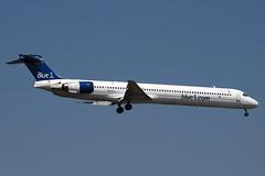 OH-BLU - 53458 - Blue1 - McDonnell Douglas MD-90-30 - 100617 - Heathrow - Steven Gray - IMG_4636