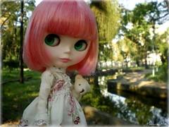 uma menina rosa tem que ser romântica! =0)
